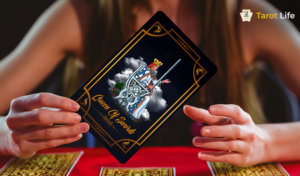 Queen of Swords Tarot Card Meanings Reversed and Upright